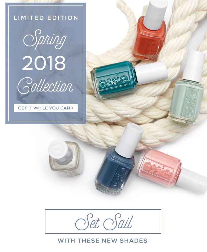 LIMITED EDITION Spring 2018 Collection - GET IT WHILE YOU CAN /> - Set Sail WITH THESE NEW SHADES
